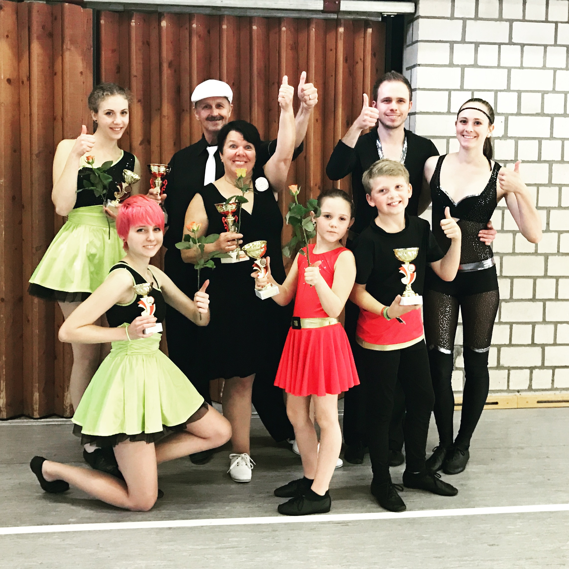 3 Tanzpaare – 3 Pokale!